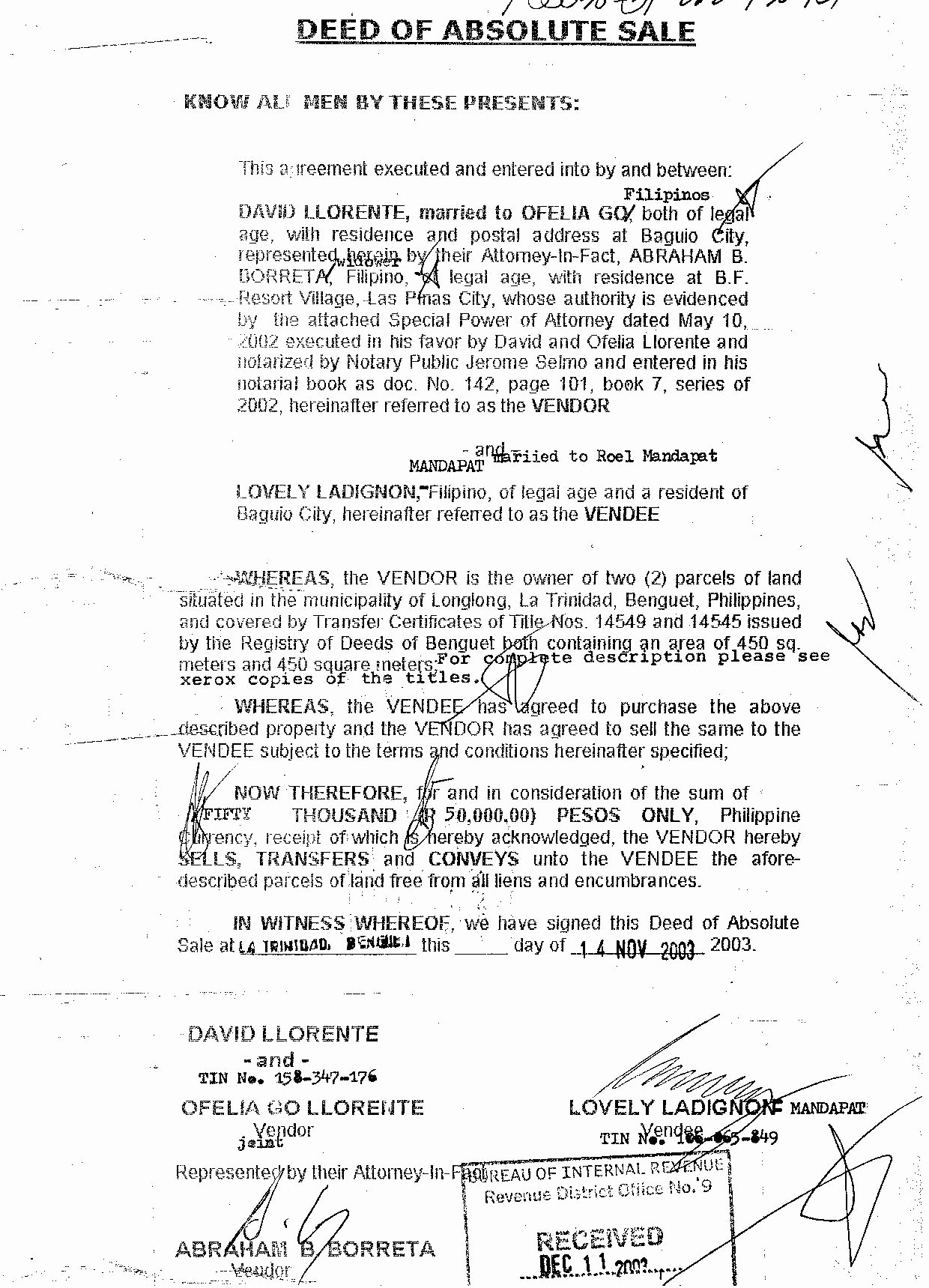 Deed Of Sale for Car Beautiful the Unethical and Criminal Involvement Of Judge Abraham