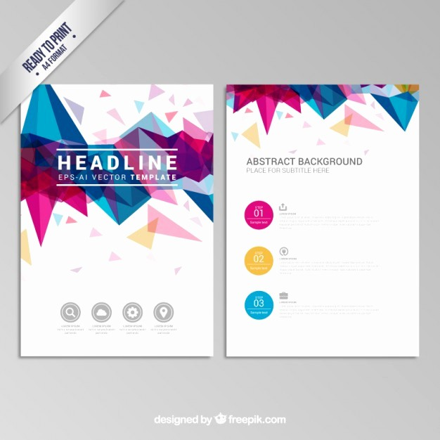Design A Pamphlet In Word Fresh Pamphlet Vectors S and Psd Files