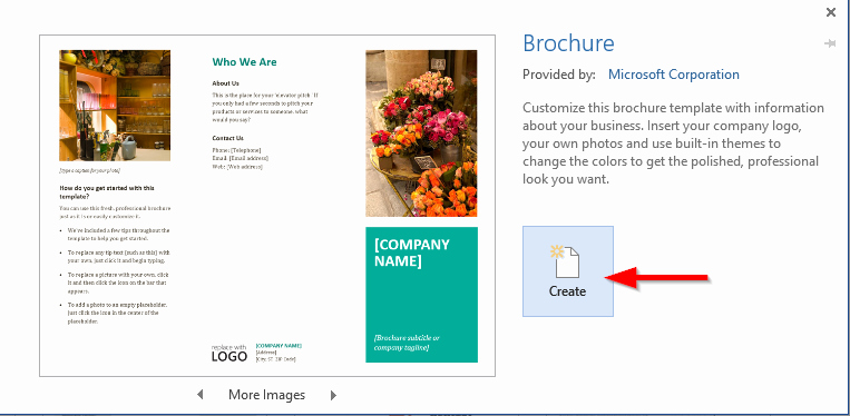 Design A Pamphlet In Word Luxury How to Create A Professional Brochure and Flyers Using