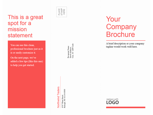 Design A Pamphlet In Word New Brochures Fice