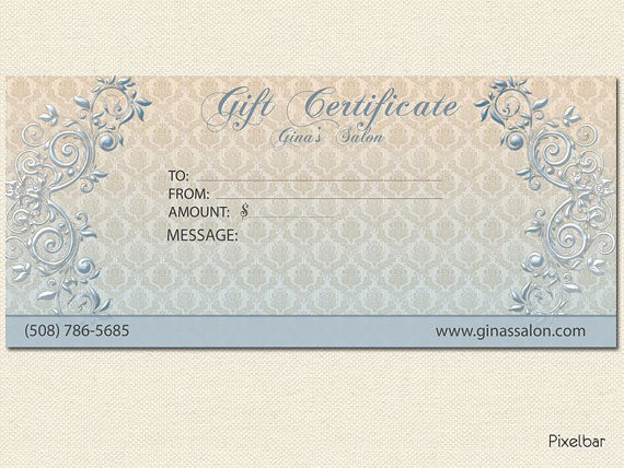 Design Your Own Gift Certificate Elegant 8 Best Of Create Your Own Certificate Templates