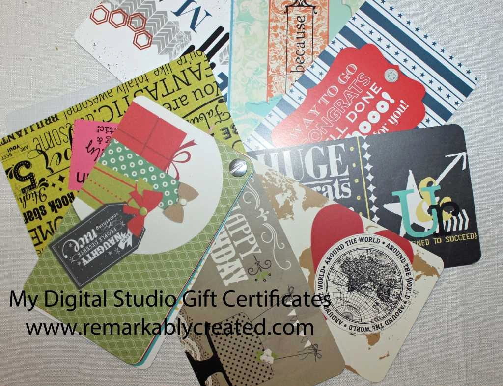 Design Your Own Gift Certificate Elegant My Digital Studio Monday Create Your Own Gift