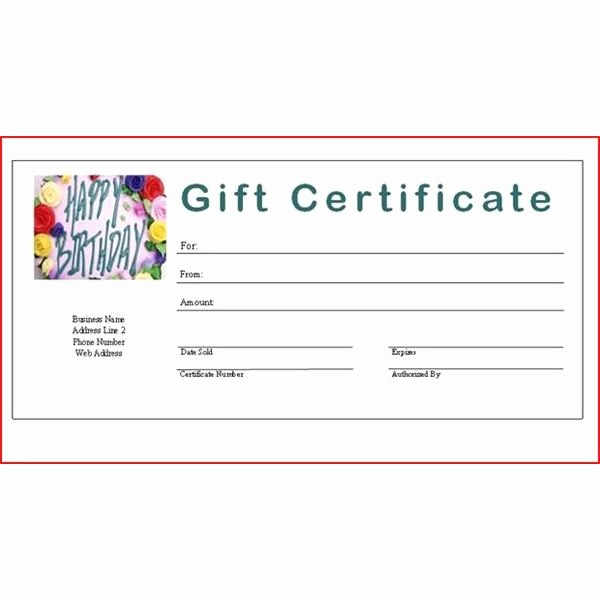 Design Your Own Gift Certificate Fresh 7 Best Of Create Your Own Gift Certificate Design