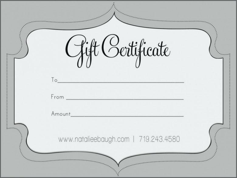 Design Your Own Gift Certificate Lovely Create Your Own Gift Card Certificate Free Massage