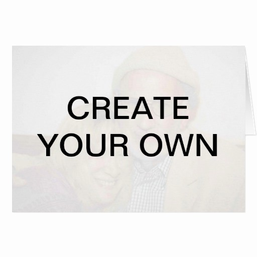 Design Your Own Gift Certificate Luxury Create Your Own Greeting Card