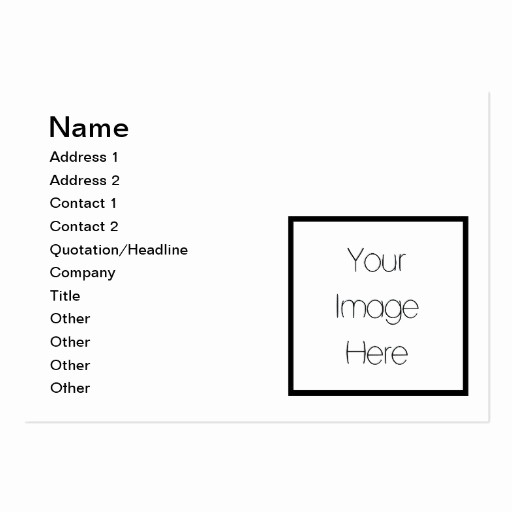 Design Your Own Gift Certificate Luxury Design Your Own Custom Gift Blank Business Cards