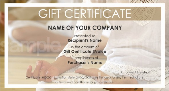 Design Your Own Gift Certificate Unique Print Your Own Gift Certificates Using Easy Templates