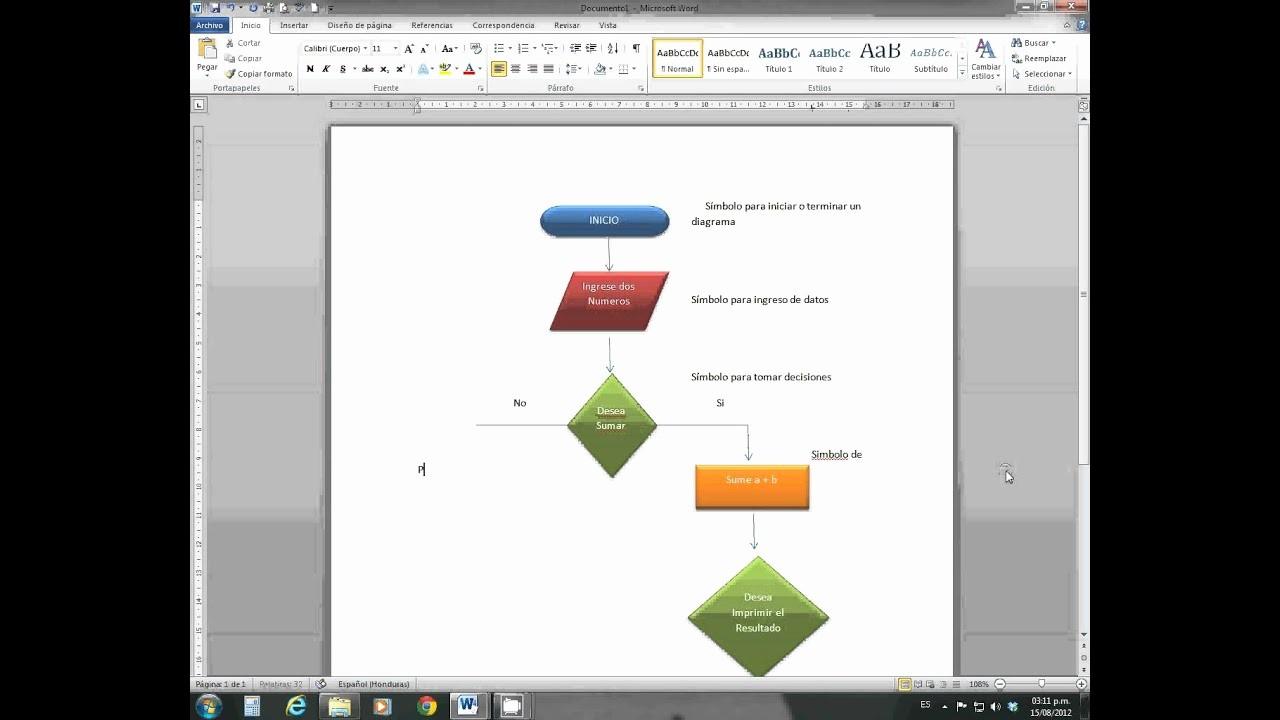 Diagramas De Flujo En Excel Fresh Diagrama De Flujo En Word
