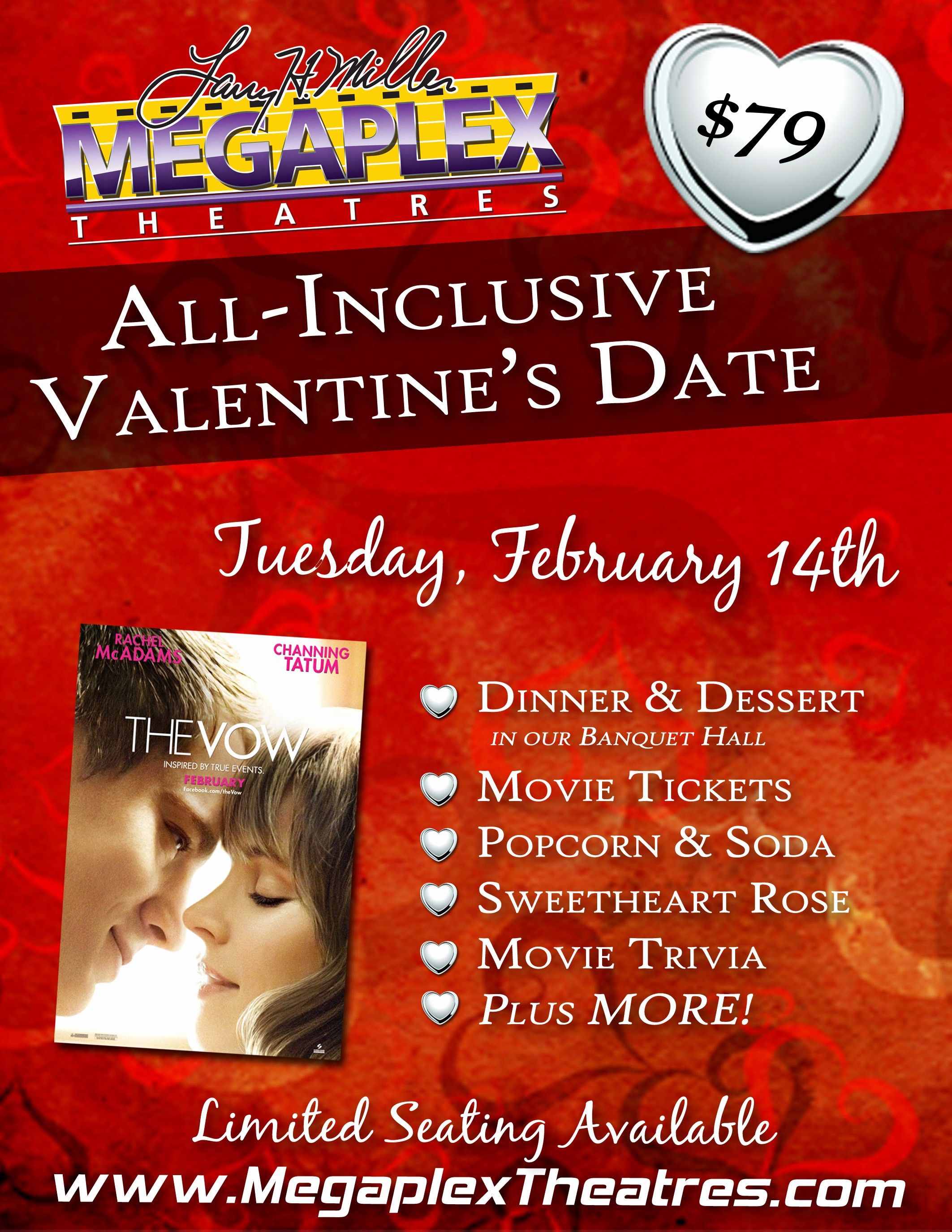 Dinner and A Movie Flyer Awesome Utah Readers Ly $79 for An All Inclusive Valentine S