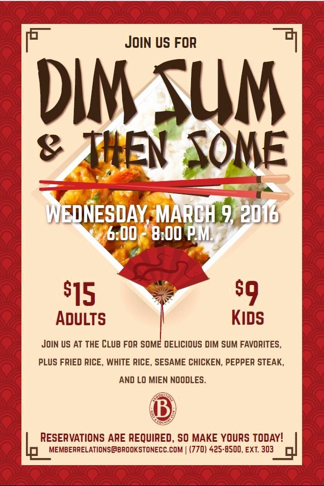 Dinner and A Movie Flyer Luxury Dim Sum asian Night Dinner Poster Flyer Template