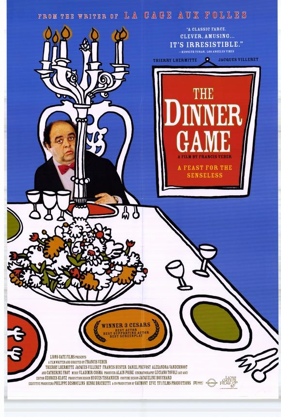 Dinner and A Movie Flyer New the Dinner Party