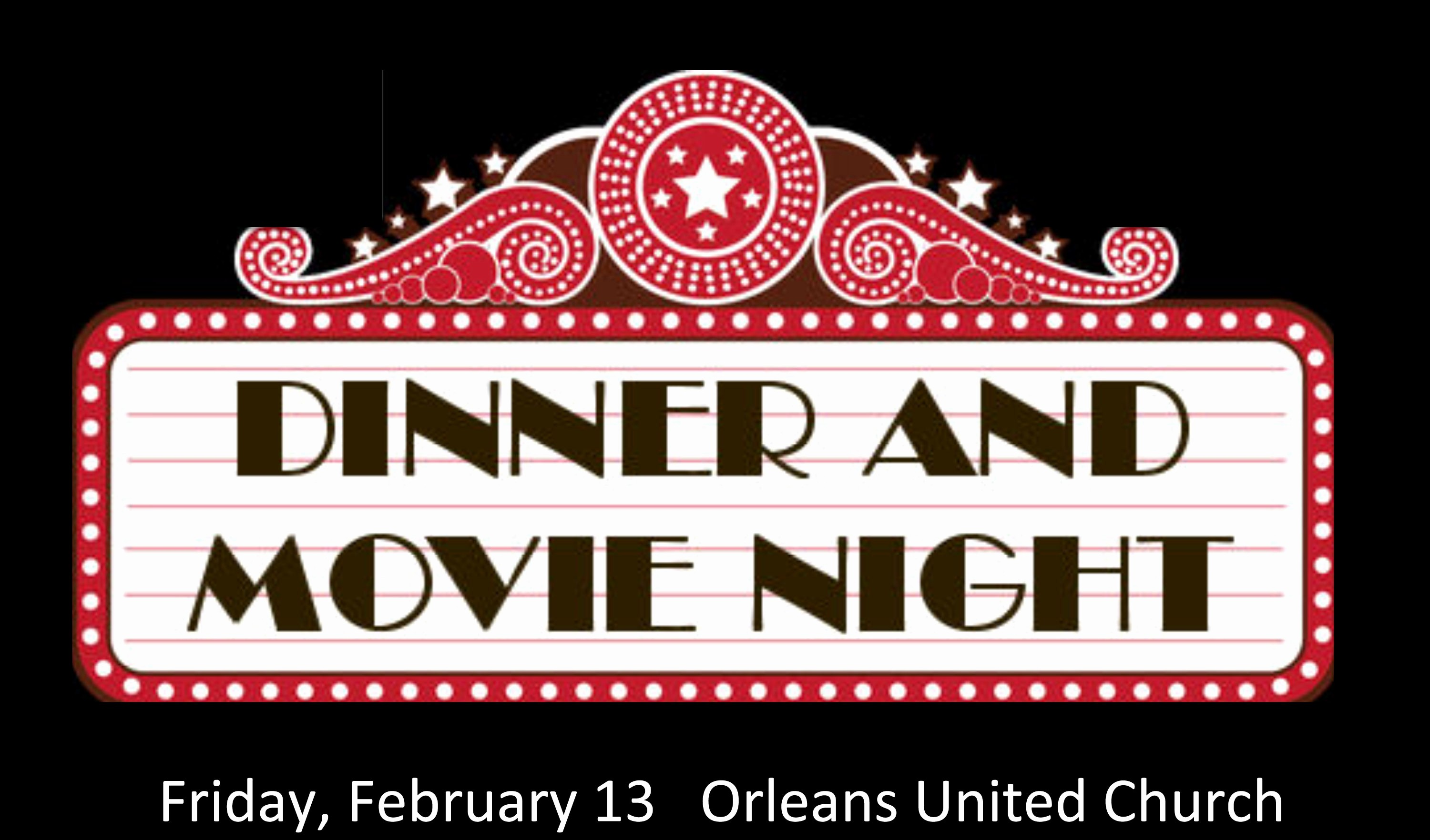 Dinner and A Movie Flyer Unique Dinner and Movie Night