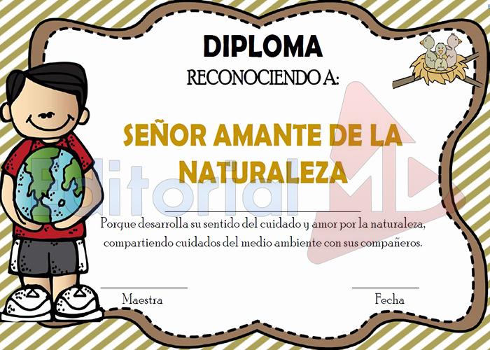 Diplomas Para Imprimir Y Editar Awesome Diplomas Y Reconocimientos Para Descargar
