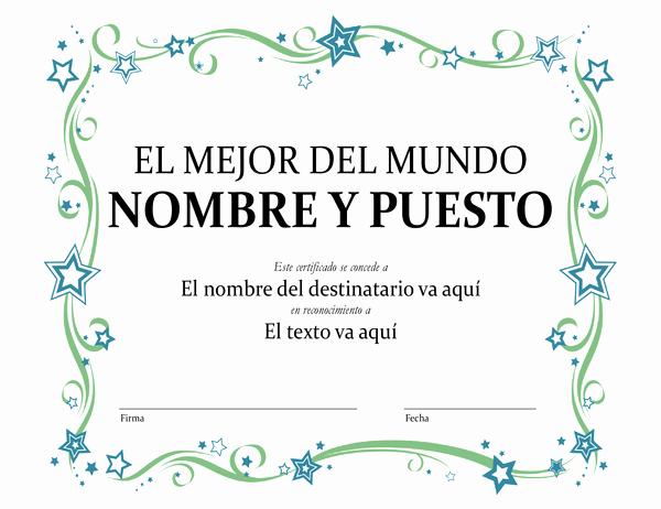 Diplomas Para Imprimir Y Editar Beautiful Certificados Fice