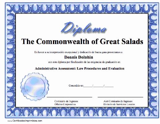 Diplomas Para Imprimir Y Editar Elegant Diploma Para Imprimir Los Certificados Gratis Para