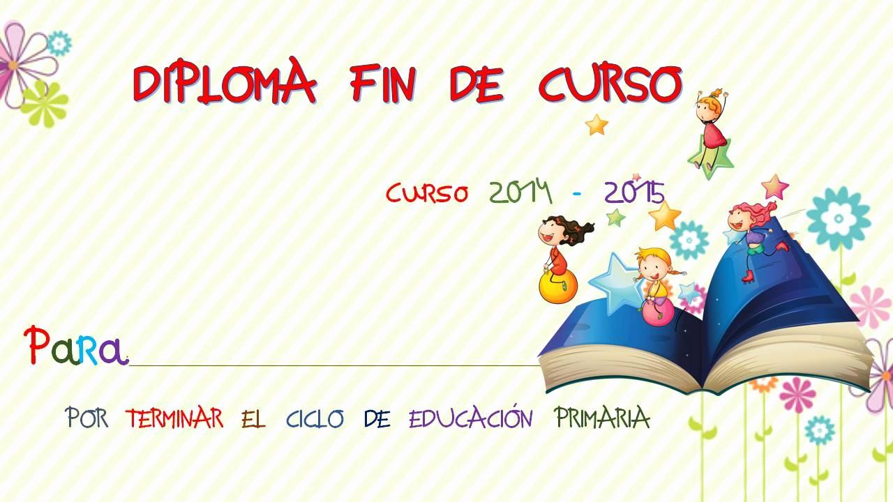 Diplomas Para Imprimir Y Editar Fresh Diplomas Fin De Curso 45 Imagenes Educativas