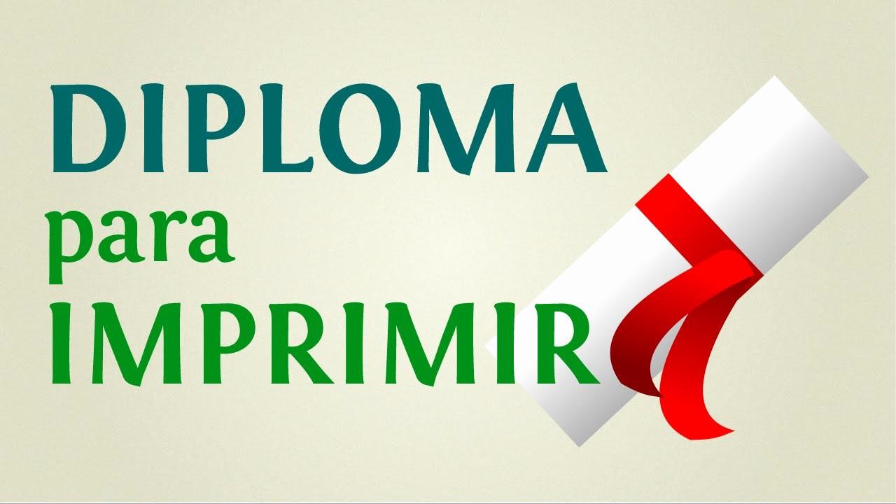 Diplomas Para Imprimir Y Editar Inspirational Cómo Hacer Un Diploma Para Imprimir En 5 Minutos Paso A