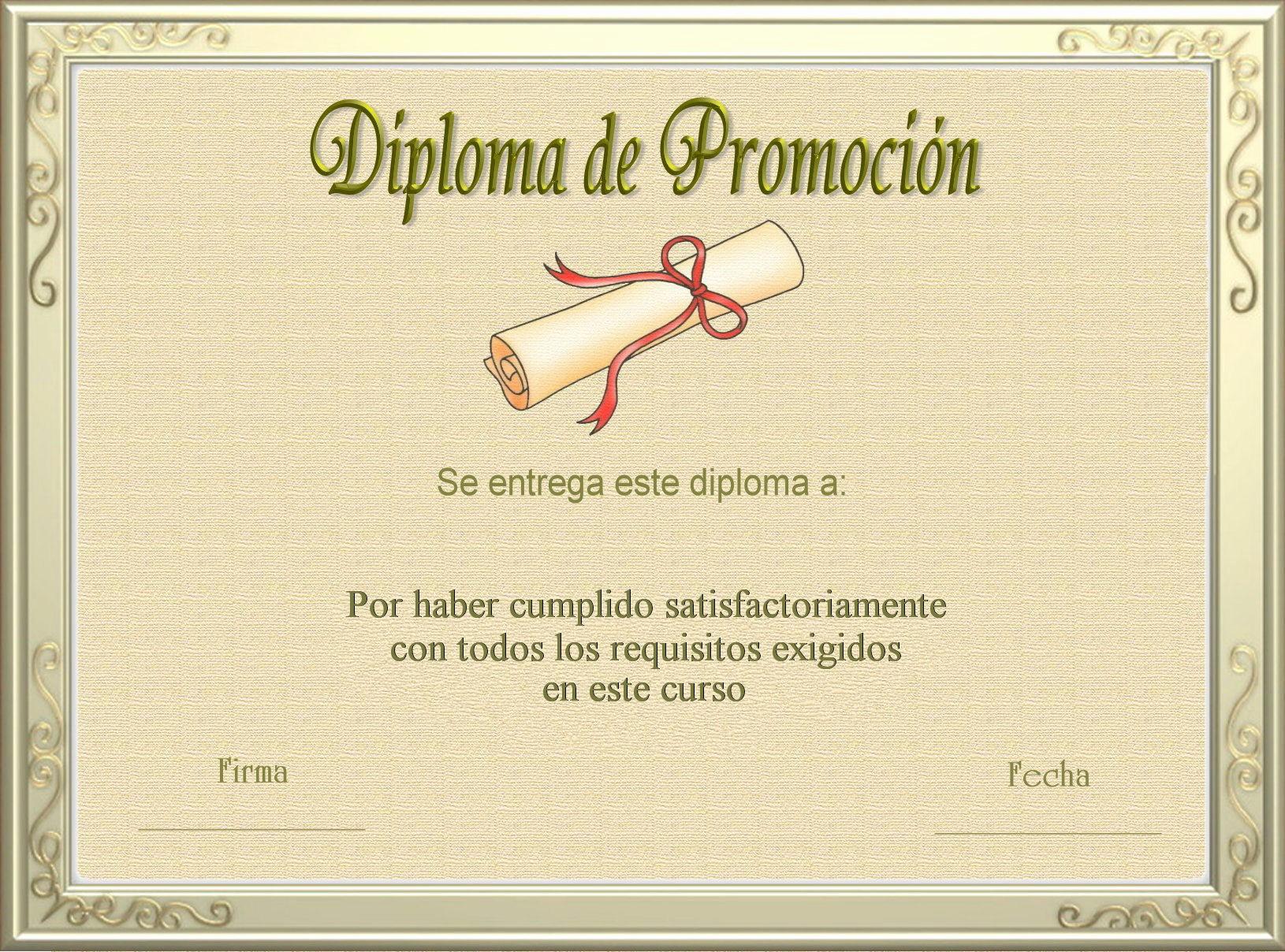 Diplomas Para Imprimir Y Editar Inspirational Plantillas Y Fondos Para Diplomas