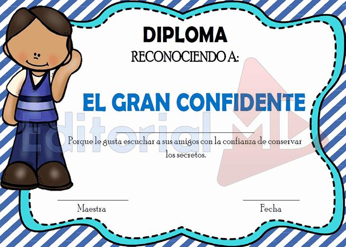 Diplomas Para Imprimir Y Editar Luxury Reconocimientos Para Editar Imprimir