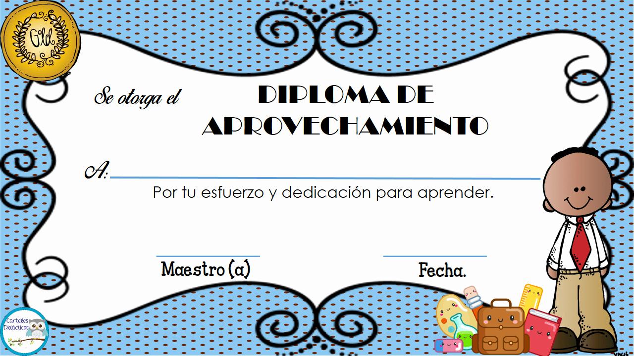Diplomas Para Imprimir Y Editar New Diplomas Para Nuestros Alumnos 4 Imagenes Educativas