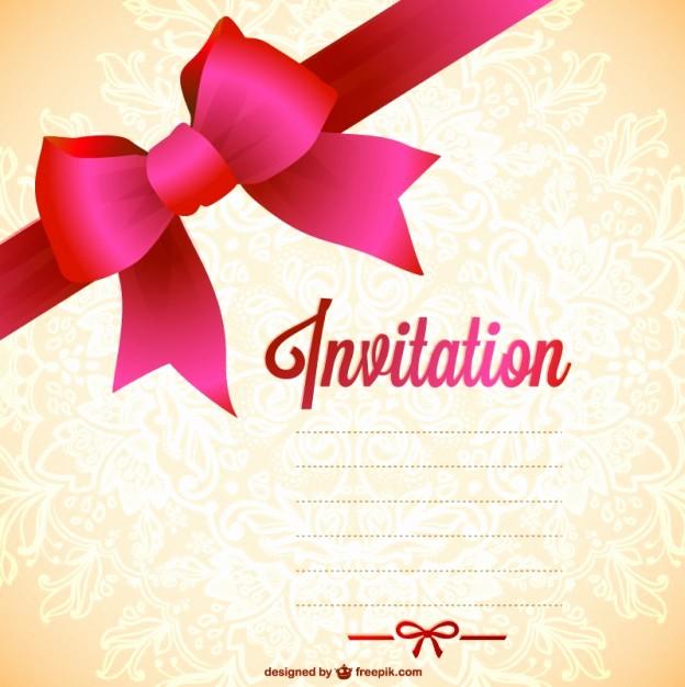 Diseño De Tarjetas De Invitacion Elegant Plantilla De Invitación Para Imprimir Gratis