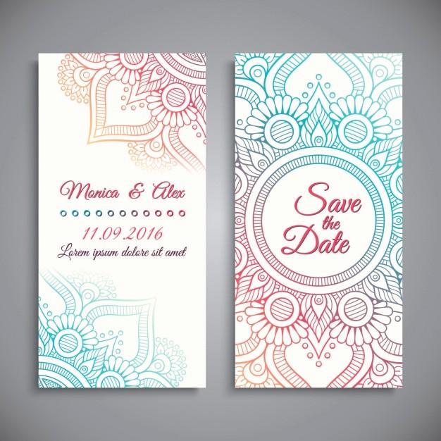 Diseño De Tarjetas De Invitacion Inspirational Diseño De Invitación De Boda
