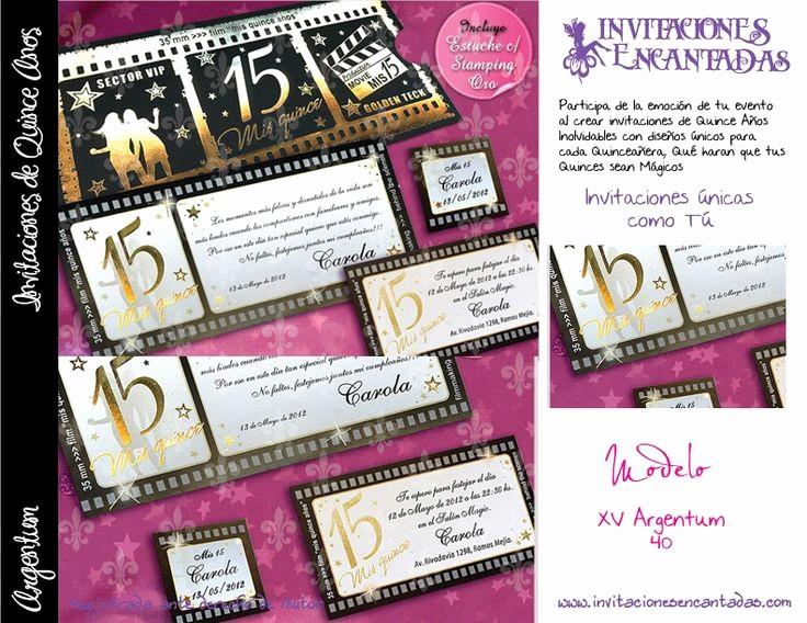 Diseño De Tarjetas De Invitacion New Invitacion Con Diseño De Ticket De Cine