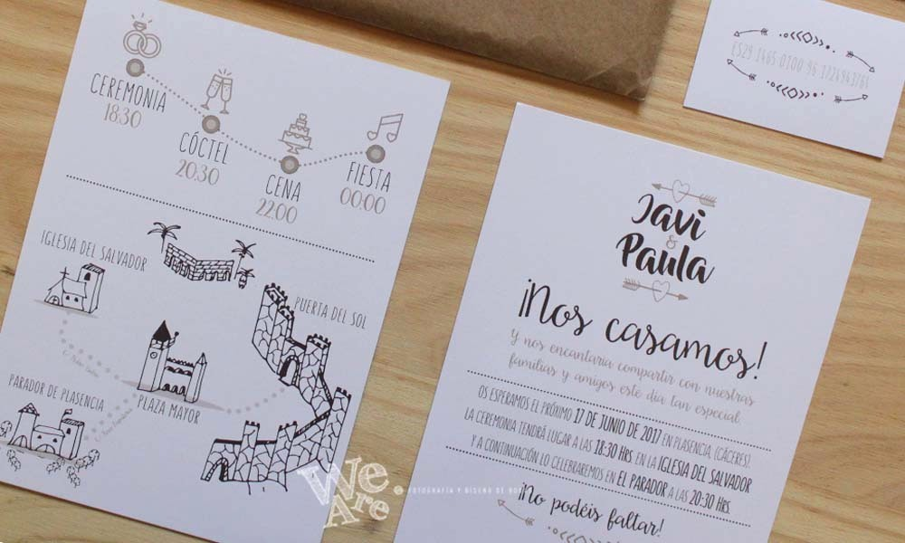 Diseño De Tarjetas De Invitacion New Invitaciones De Boda Diferentes We are