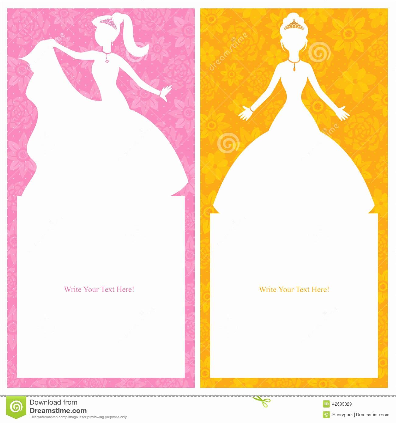 Diseños De Tarjetas De Cumpleaños Beautiful Diseño De Tarjeta De La Princesa Del Cumpleaños