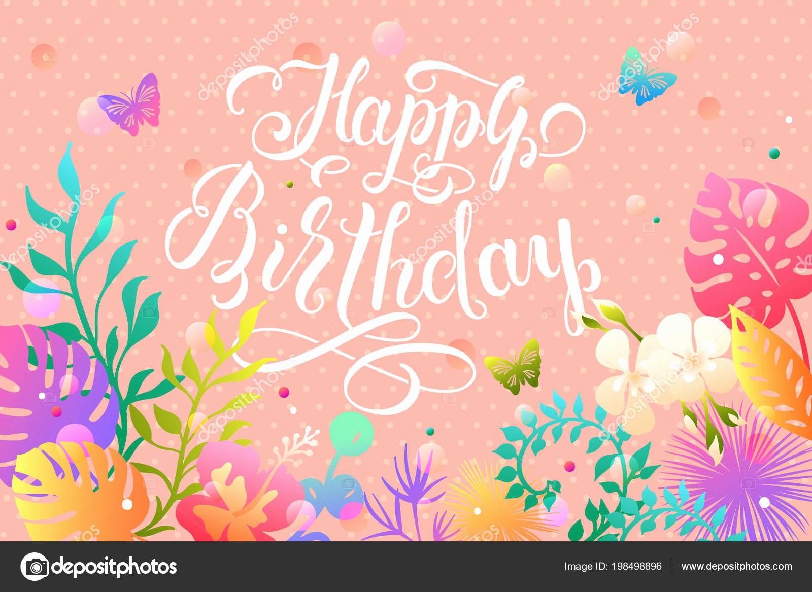 Diseños De Tarjetas De Cumpleaños Beautiful Imágenes Diseños De Hojas Para Cumpleaños