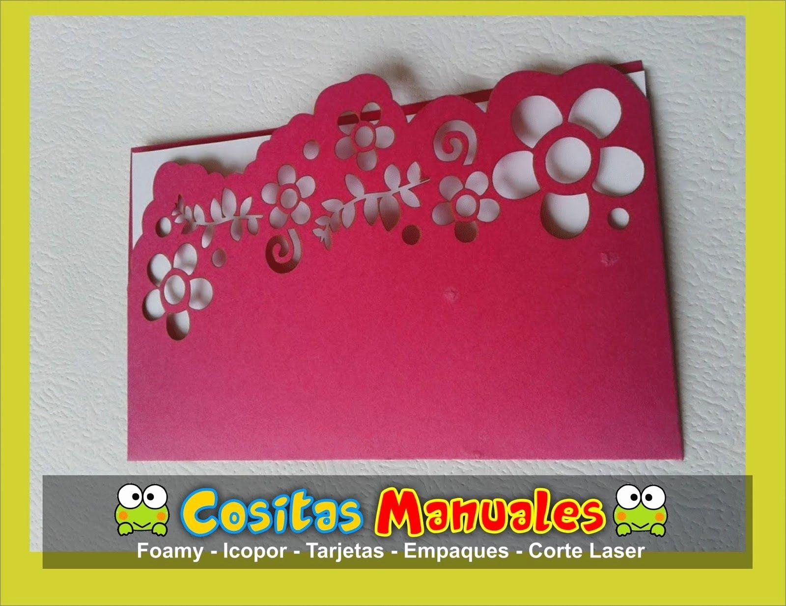 Diseños De Tarjetas De Cumpleaños New Tarjeta Manual Cumpleaños Diseño Labrado En Flores