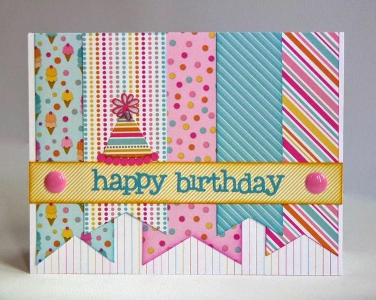 Diseños De Tarjetas De Cumpleaños New Tarjetas De Cumpleaños Diy Ideas Creativas Y Diseños