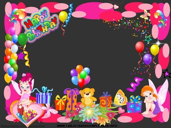Diseños De Tarjetas De Cumpleaños Unique Diseños De Tarjeta De Cumpleaños Infantiles Imagui