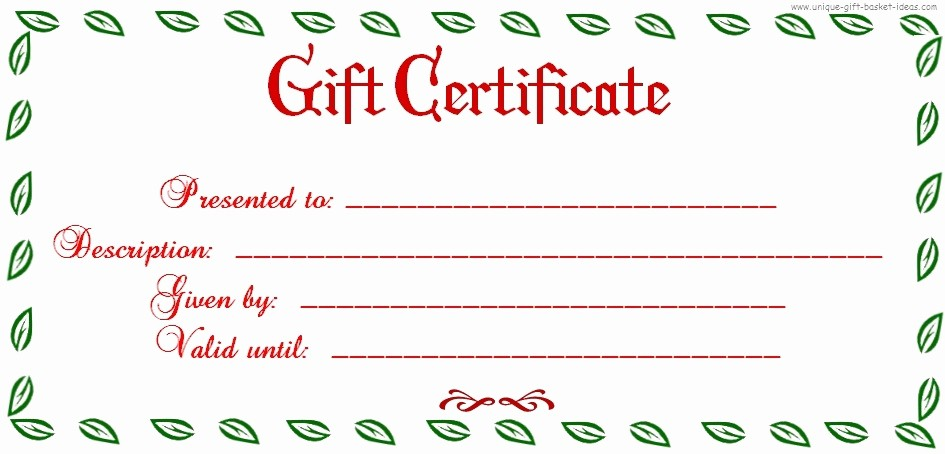 Diy Gift Certificate Template Free Awesome Uses for Gift Certificate Templates