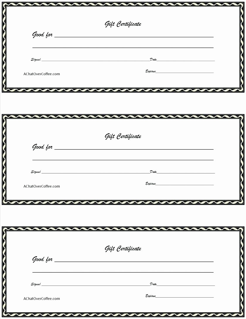 Diy Gift Certificate Template Free Best Of Template Gift Card Certificate Template