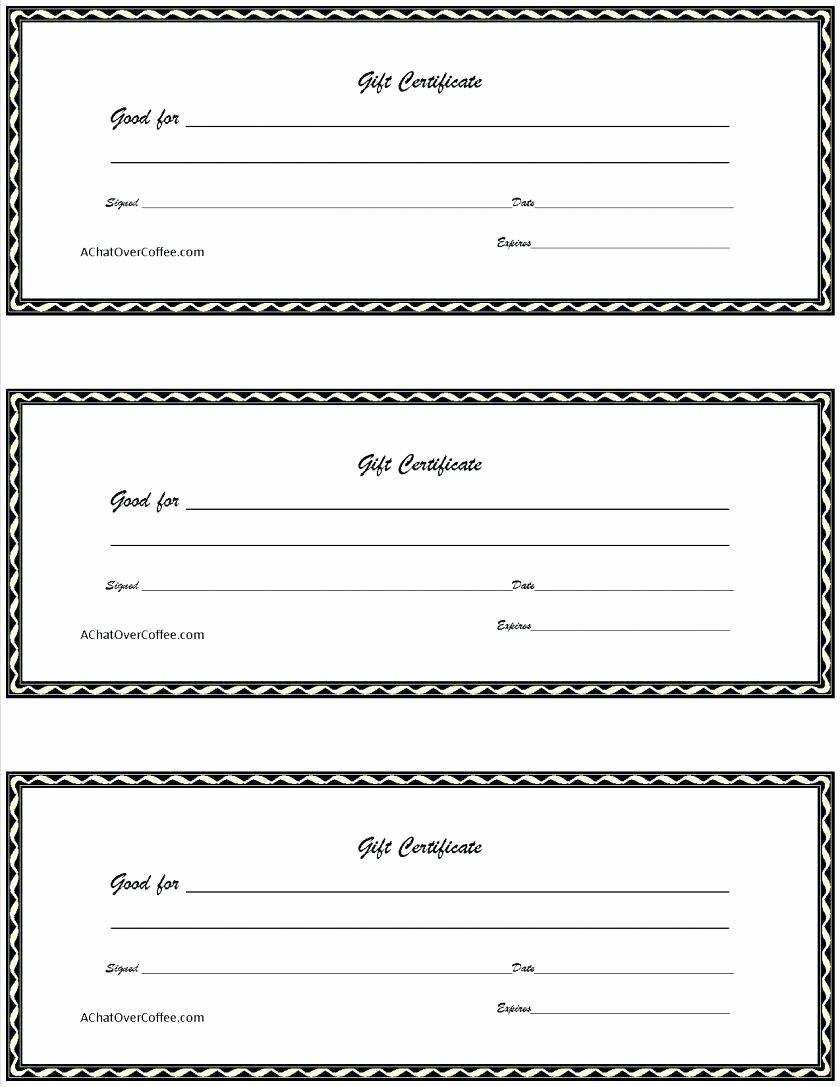 Diy Gift Certificate Template Free Best Of Template Gift Card Certificate Template