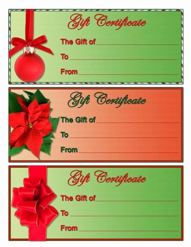 Diy Gift Certificate Template Free Elegant Homemade Gift Certificate