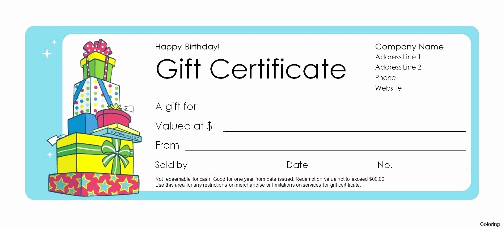 Diy Gift Certificate Template Free Elegant How to Numbered Gift Certificates In Publisher Gift Ftempo