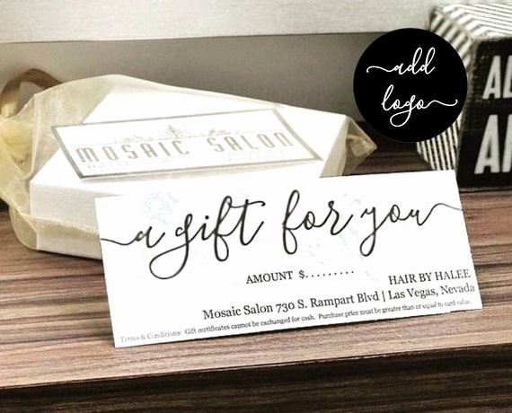 Diy Gift Certificate Template Free Lovely Printable Gift Certificate Gift Card Template Simple Rustic