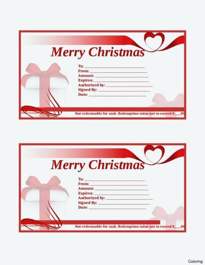 Diy Gift Certificate Template Free Luxury Homemade Gift Certificate Templates Circle Birthday Gift