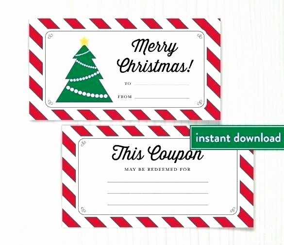 Diy Gift Certificate Template Free New Homemade Gift Vouchers Templates Homemade Gift