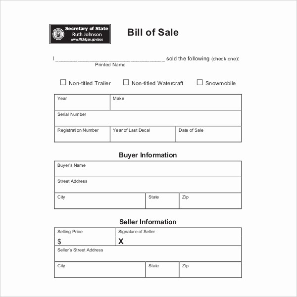 Dmv Bill Of Sell form Inspirational 15 Sample Dmv Bill Of Sale forms