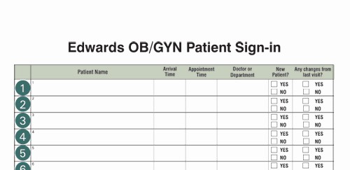 Doctor Sign In Sheet Template Inspirational Medical Fice Supplies
