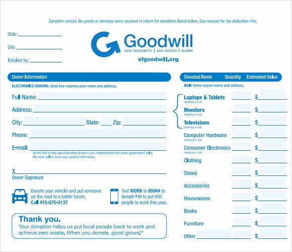 Donation form for Tax Purposes Best Of 4 Tax Donation Receipt Templates Excel Xlts
