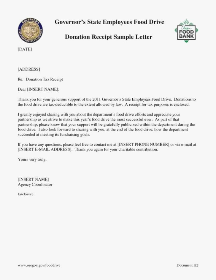 Donation form for Tax Purposes Inspirational Donation Receipt Letter for Tax Purposes Cover Church