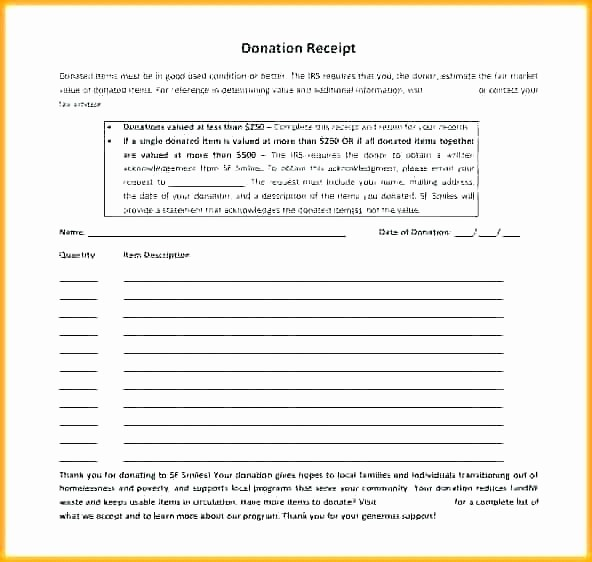 Donation form for Tax Purposes Lovely Non Profit Donation Receipt Letter – Samplethatub