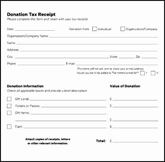 Donation Receipt for Non Profit Elegant Charitable Donation Receipt Template Australian