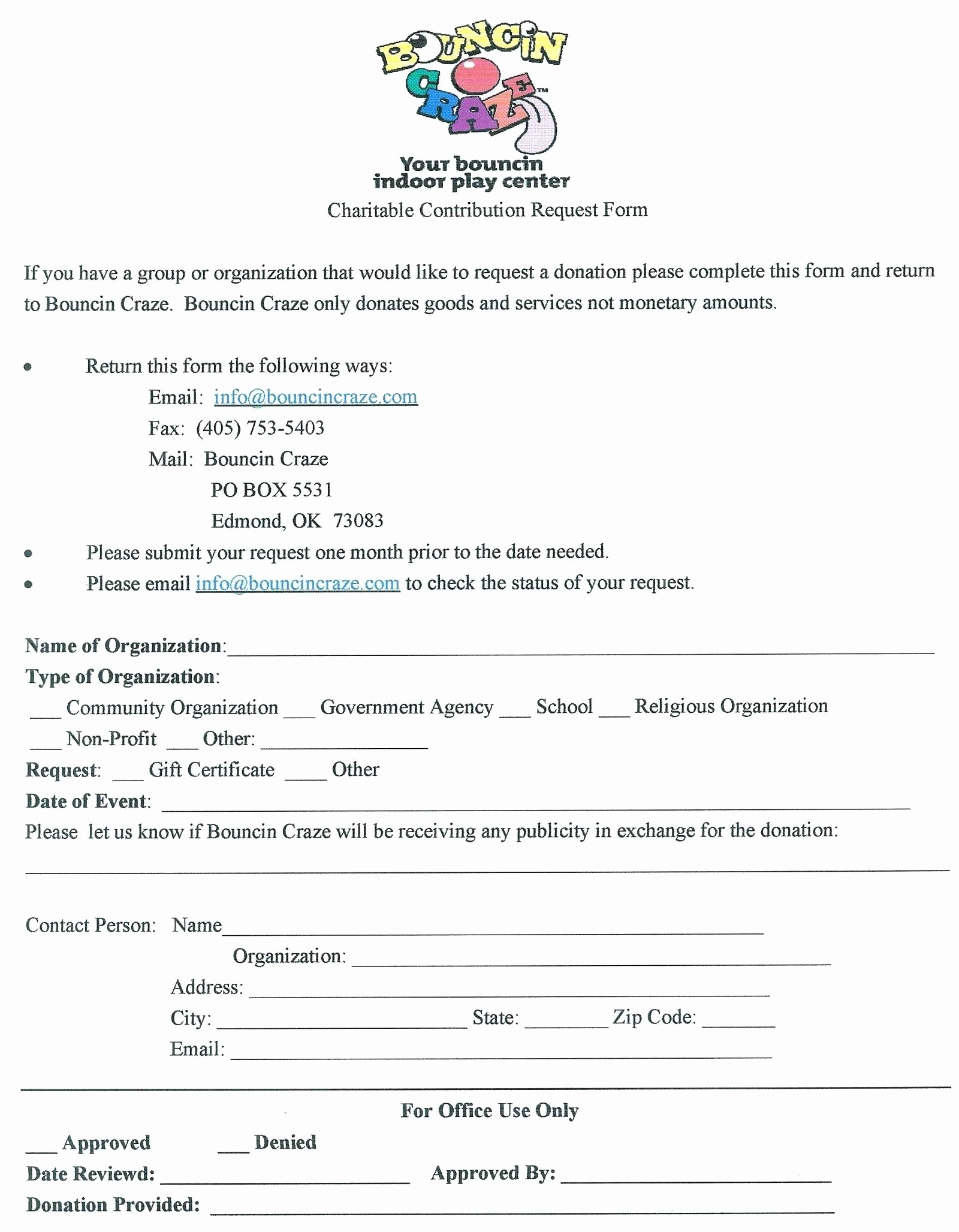 Donation Receipt for Non Profit New Template Donation Request Letter Template for Non Profit