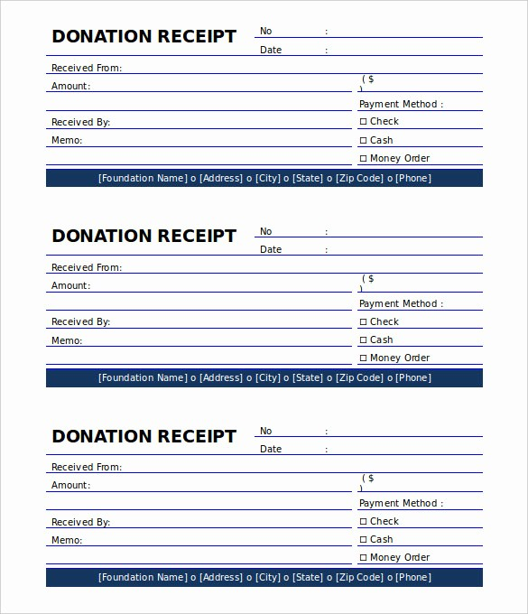 Donation Receipt Letter Template Word Best Of 18 Payment Receipt Templates – Free Sample Example