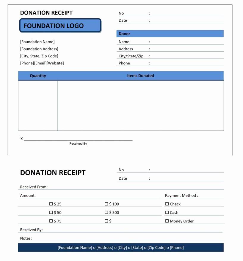 Donation Receipt Letter Template Word Inspirational Donation Receipt